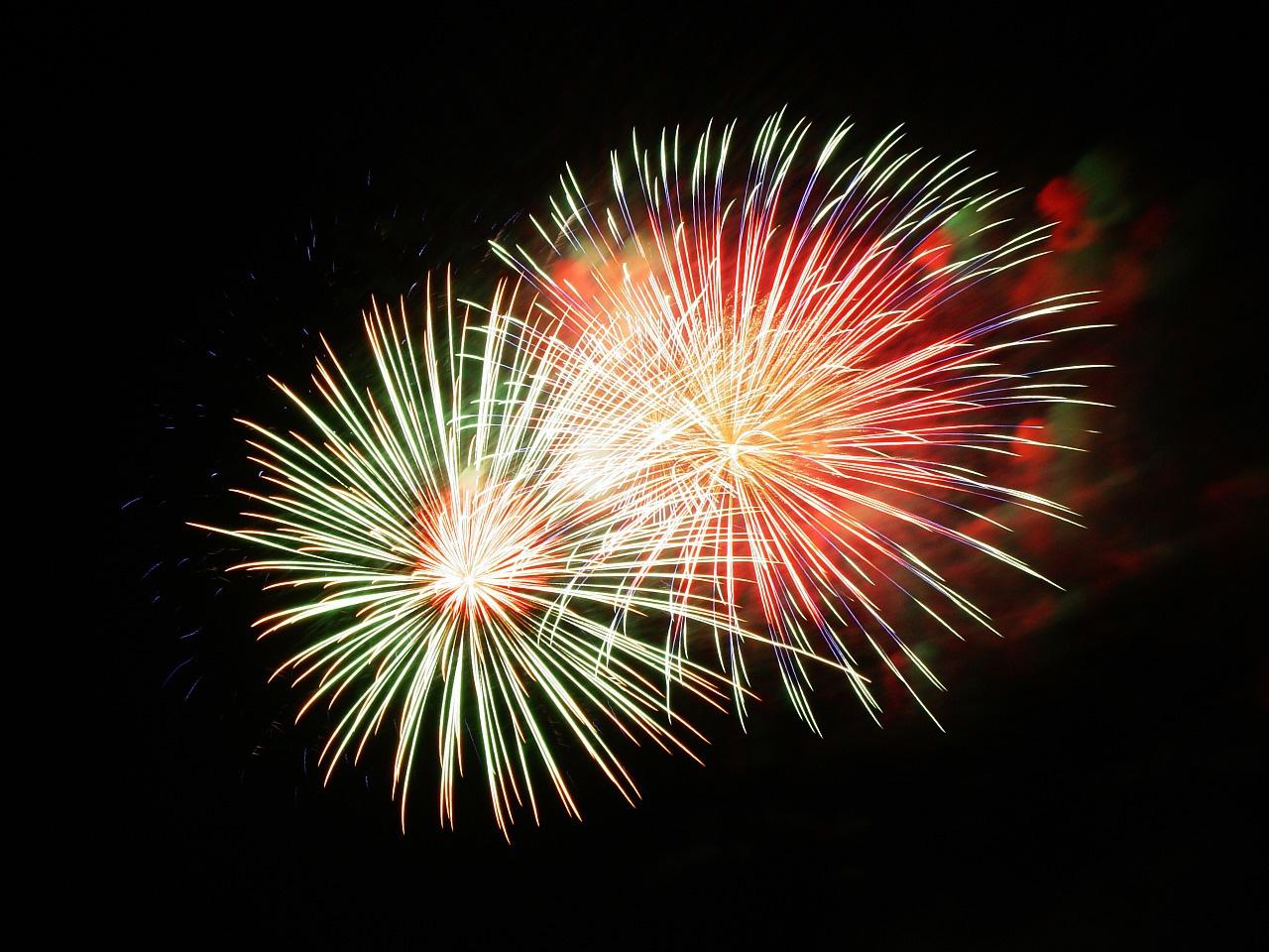 La magie des feux d'artifice